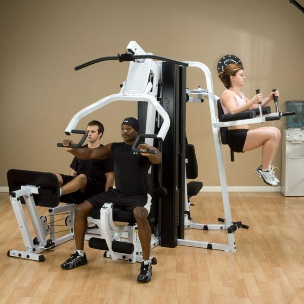 Body Solid Exm3000lps Home Gym System