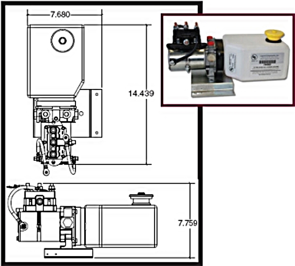 medium resolution of lippert 014 141111 hydraulic power unit with 2qt pump reservoir kit rh rvupgradestore com rv electrical system diagram rv electrical wiring diagram