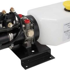 Hydraulic Pump Wiring Diagram Haltech Lippert 014 141111 Power Unit With 2qt Reservoir Kit Model 643150