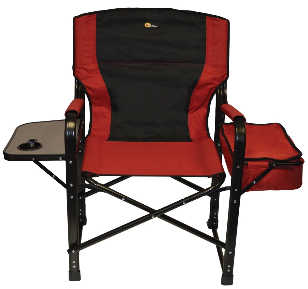 Folding Director Chair Faulkner 49582 El Capitan Folding Directors Chair Burgundy Black