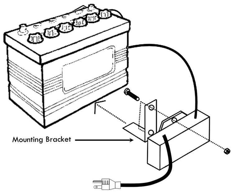 Trailer Wiring Harness Mounting Bracket