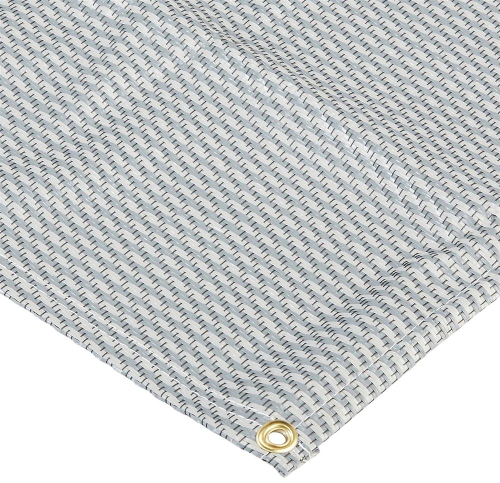 carefree 182071 dura mat rv patio mat gray 20 x 8