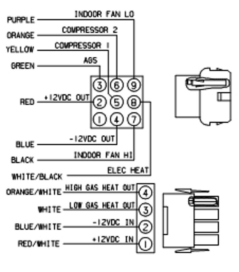 Coleman Mach 6535 3442 Digital True Air Thermostat Black 2 Stage