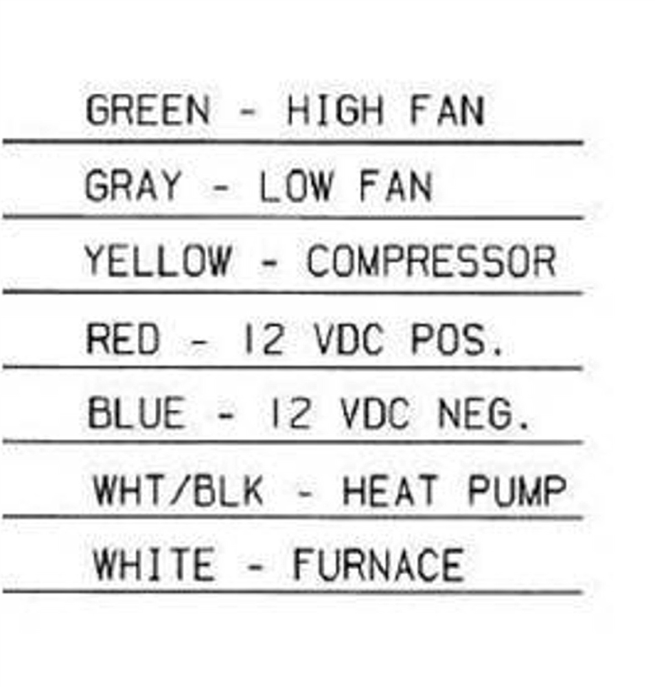 medium resolution of thermostat instruction wiring diagram heating green