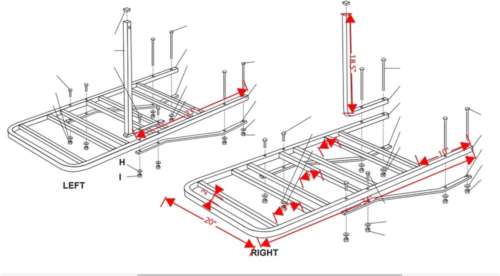 swagman 80600 4 position rv bumper bike carrier