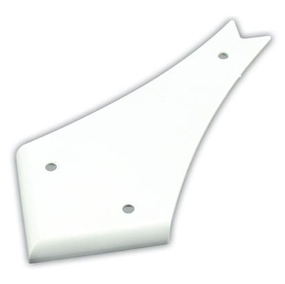hight resolution of jr products 4 curved rv slide out cover polar white