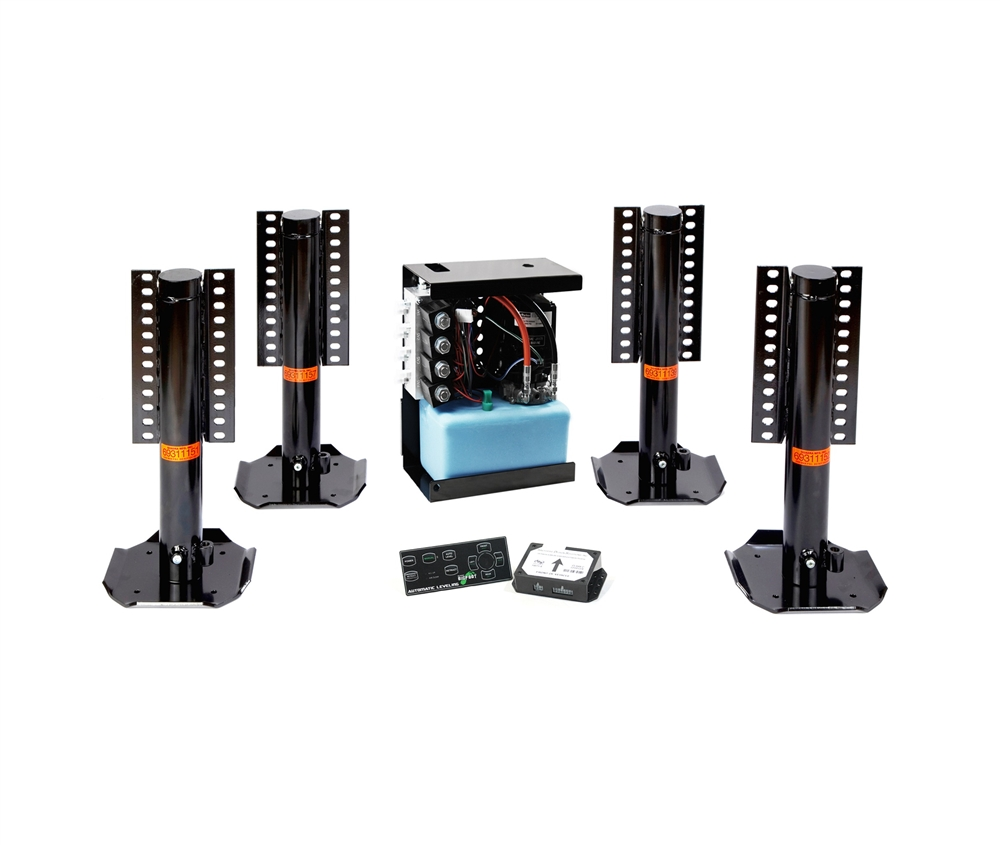 bigfoot automatic leveling system for sprinter class b c motorhome [ 1000 x 845 Pixel ]