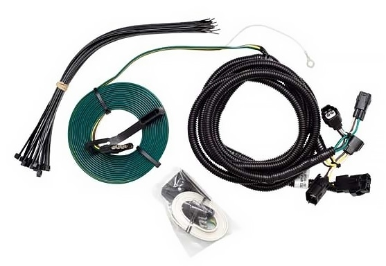 flat tow behind trailer wiring harnes for jeep jk motorhome [ 1000 x 976 Pixel ]
