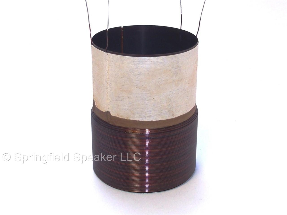 hight resolution of 2 5 inch subwoofer voice coil
