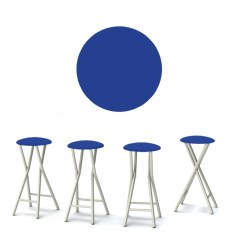 Folding Bar Stool Chairs Cheap Pool Chaise Lounge Portable Stools Set Of 4 Tailgating To Go