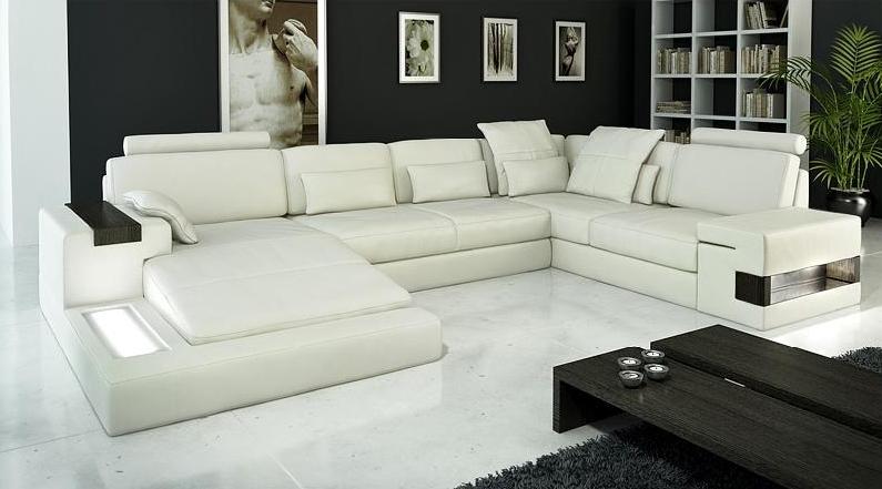 leather sectional sofas rv sofa sleeper air mattress modern italian cp 1692