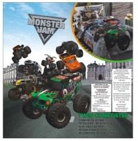 Monster Jam Twin Bedding Set