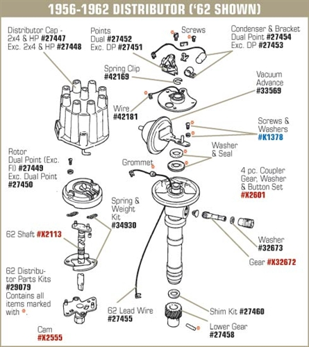 127451 5874 Ignition Point Except Dual Point