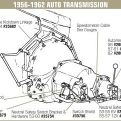 2004 Ford F150 Audio Wiring Diagram Civic Obd2b 35682 - 55-57 Kickdown Linkage Set. 1x4 Powerglide