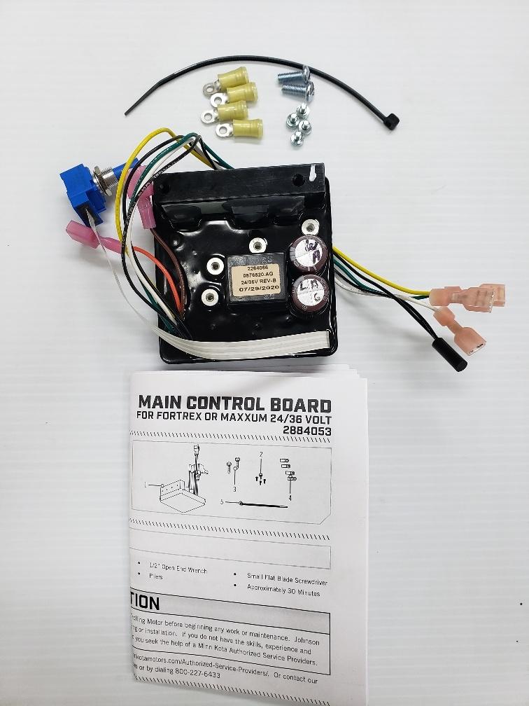 hight resolution of minn kota maxxum trolling motor foot control board 2884053 sports outdoors
