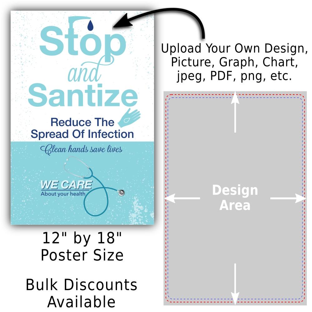 custom poster 12 by 18 cardstock