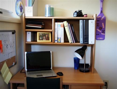 Dorm Desk Shelf
