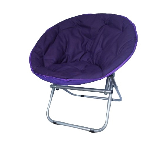 Comfort Padded Moon Chair  Downtown Purple College