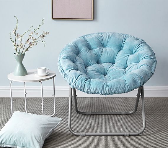 dorm room chair lucky bums camp cheap stylish college seating options comfort padded a perfect color to match your decor moon sky aqua