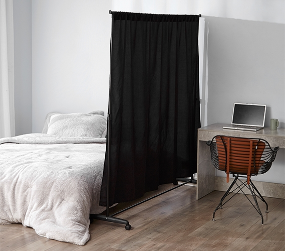 don t look at me privacy room divider basics extendable black frame