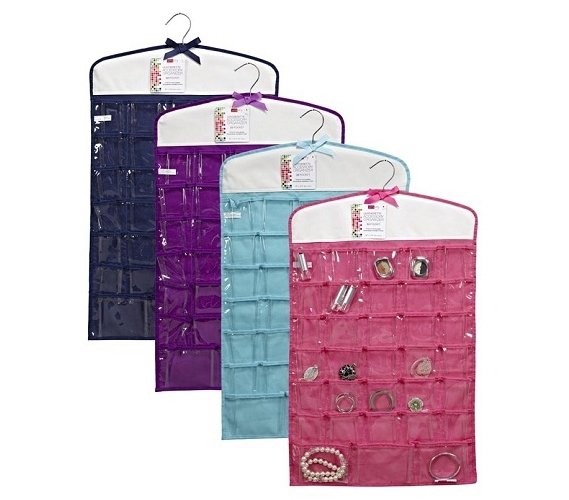 Jewelry Organizer 33 Pockets  Available in 4 Colors