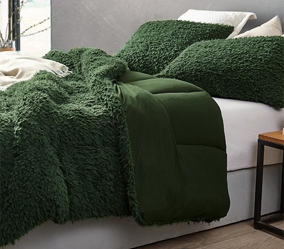 grown man stuff coma inducer twin xl comforter kombu green