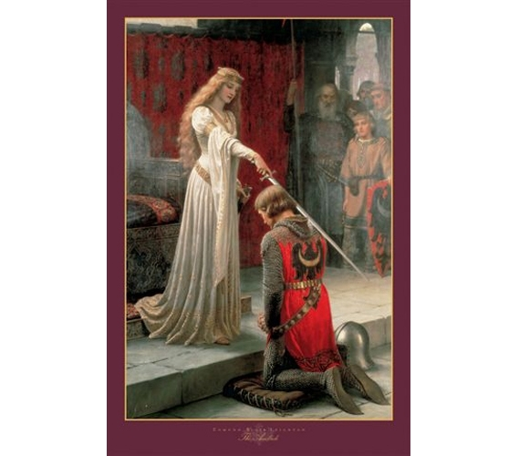 Medieval Knight  College Dorm Room Poster Cheap