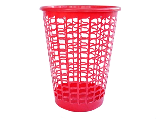 Tall Round Laundry Hamper Red Supplies For Wash Clothes College Laundry Dorm Items