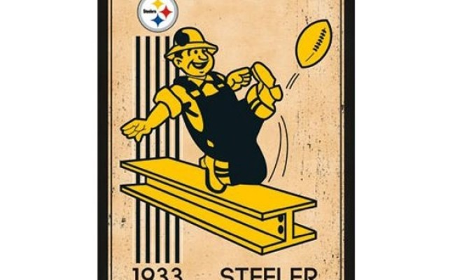 Pittsburgh Steelers Retro Logo 1933 Poster Best Dorm
