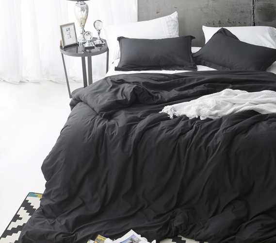 duvet cover black supersoft college bedding twin xl