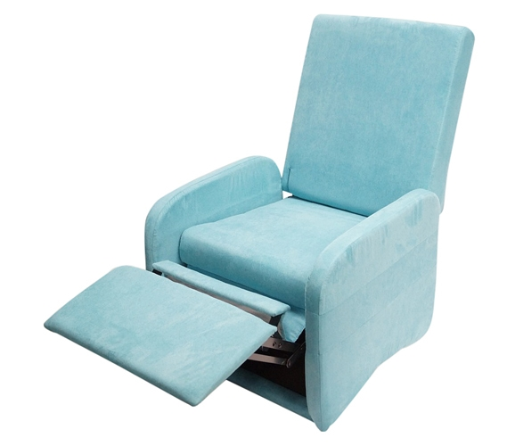 dorm room chair tot sprout high the college recliner aqua furniture for rooms