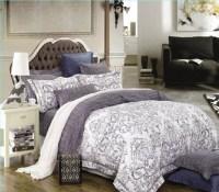 Flower Patterned Twin XL College Comforter Cozy Dorm Bedding