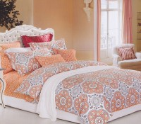 Mandala Peach Twin XL Comforter Dorm Bedding for Girls