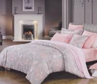 Overcast Pink Twin XL Dorm Room Comforter Girls Dorm Bedding
