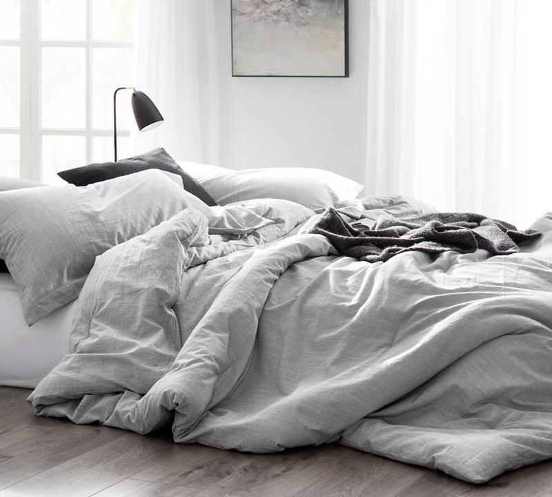 king size bedding set gray oversized king xl comforter natural loft bedspread