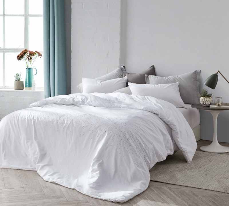 icing twin comforter oversized twin xl white