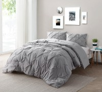 Find XL King Size Bed Comforters - Alloy Gray Bedding in ...