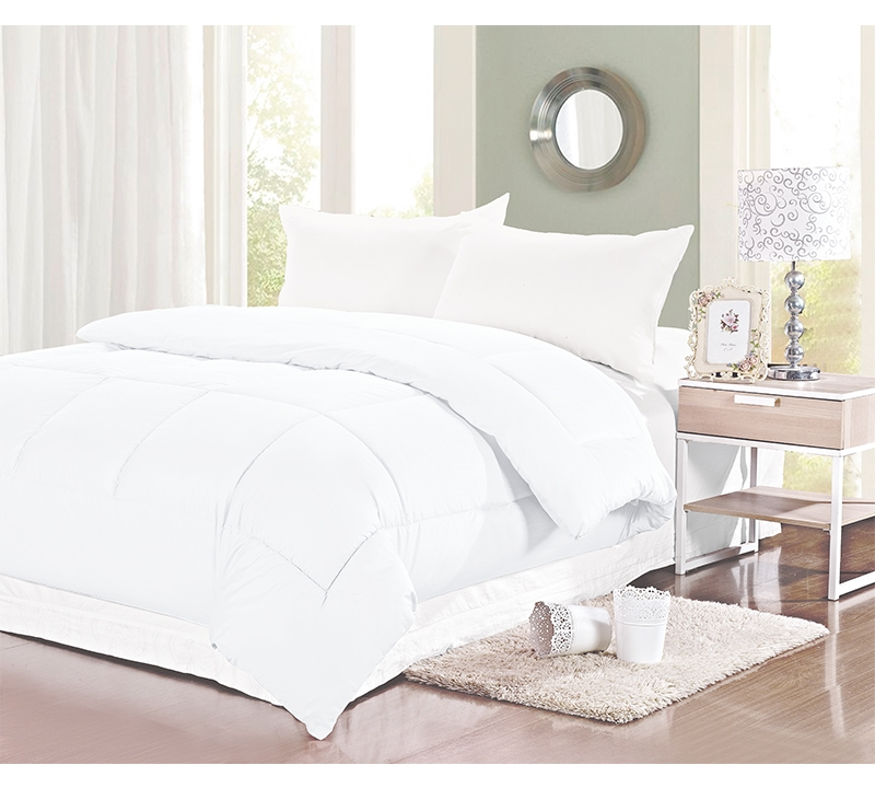 white 300 tc twin comforter oversized twin xl bedding