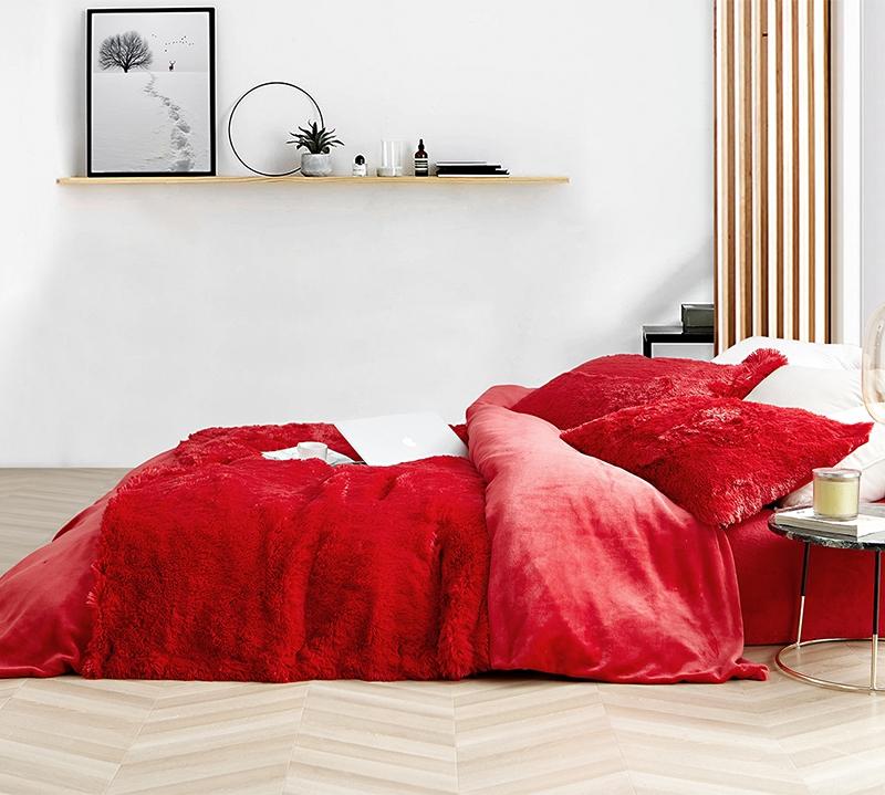 red plush sheet set for queen beds super plush ultra cozy sheet set