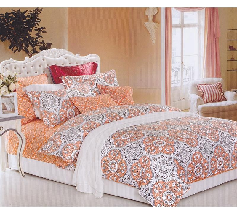 mandala peach twin comforter