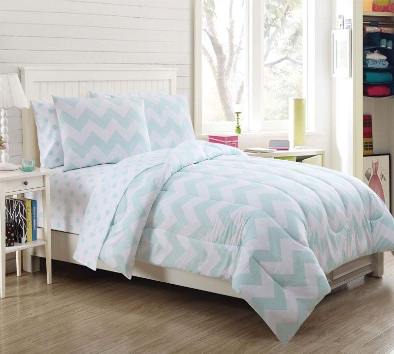 leigh 7 piece full comforter set