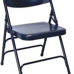 Blue Metal Folding Chairs Chair Cover Hire Inverclyde Discounted Wholesale Prices