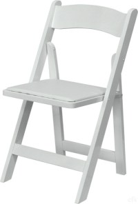 WHITE WOOD FOLDING CHAIRS: WOOD FOLDING CHAIRS, White ...
