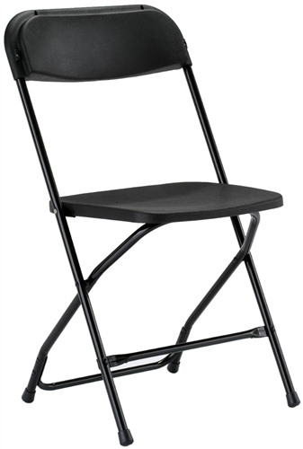 folding chair for less hanging rack georgia black plastic prices poly wholesale