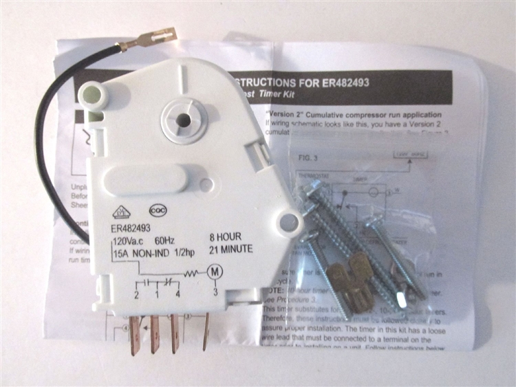 Time Clock Wiring Diagram Defrost Board Wiring Diagram Defrost Timer