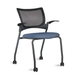 9 to 5 Seating Bella Mesh series Mesh Back Four Leg Guest
