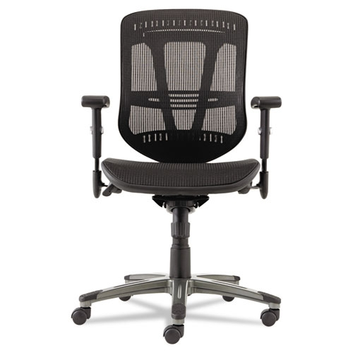 alera office chairs what is the height of a chair rail eon series multifunction wire mechanism mid back suspension mesh aleen4218 by