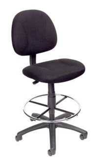 Boss B1615 Drafting Stool Counter Height Office Chairs ...