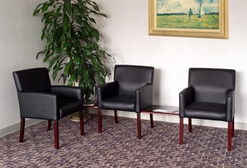 office lobby chairs chair covers wedding edinburgh boss b629 waiting room by norstar seating alternative views