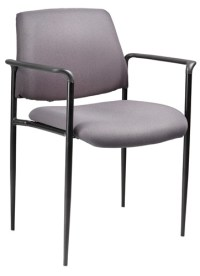 Boss Stack Chair B9503 Stackable Guest Chairs @ Office ...